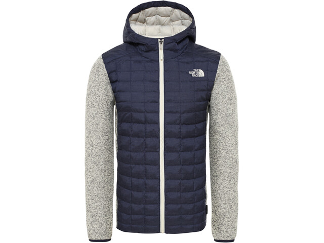 brand new 955dd 67fbd The North Face ThermoBall Gordon Lyons Hoodie Jacke Herren montague  blue/vintage white heather